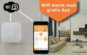 Alarm med gratis app